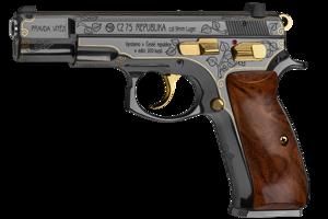 Pištoľ, ktorú v edícii vyrobila Česká zbrojovka.