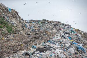 Skládka komunálneho odpadu v Senci