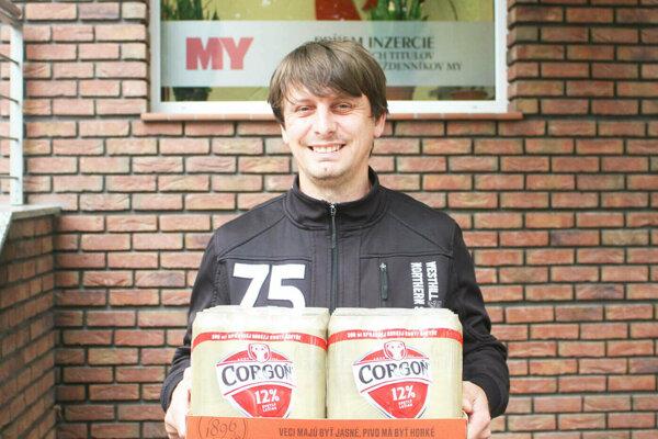 V 11. kole vyhral kartón piva Corgoň Martin Bogyo z Tesárskych Mlynian.