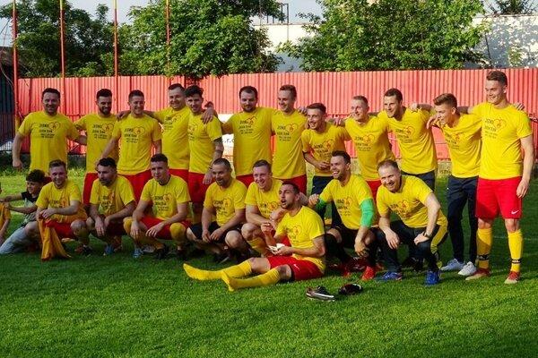 Víťaz IV. ligy Sever, sezóna 2018/2019 - TJ Jednota Bánová.