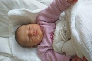 Eliška Pašmiková (3300 g, 50 cm) sa narodila 9. mája Evke a Romanovi zo Starej Turej.