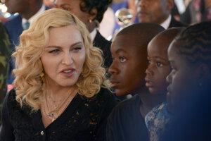 Madonna a jej adoptívne deti.