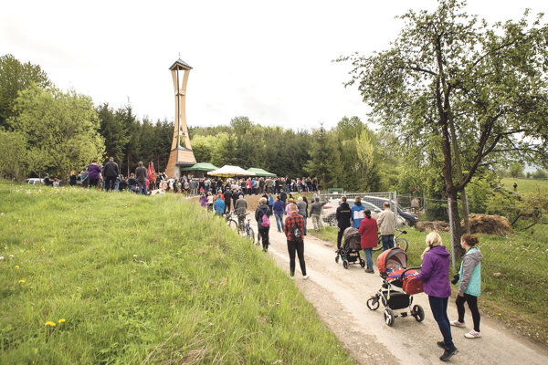 Nová zvonica zvýšila aj turistickú atraktivitu regiónu.