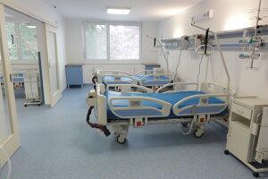 Jedna z izieb na neurologickom oddelení.
