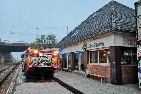 Požiar na Stanici Záriečie.