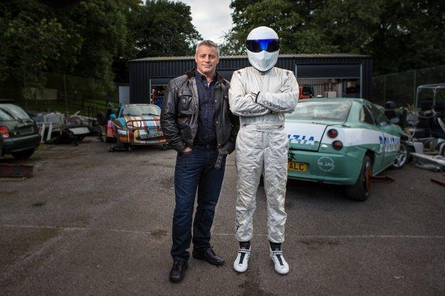 Matt LeBlanc a nakrúcanie relácie Top Gear.