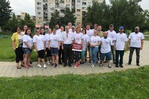 Hurbanovskí dobrovoľníci.