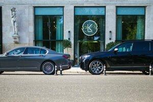 BMW radu 7 a X7.