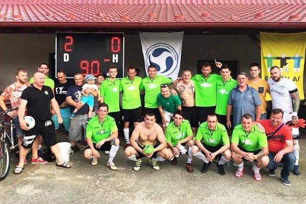 Futbalisti Malej Mače sa tešili z výhry nad Čenkovcami.