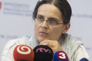 Bývalá štátna tajomníčka ministerstva spravodlivosti Mária Kolíková.