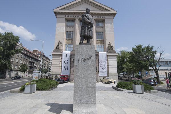 Námestie T. G. Masaryka v Bratislave.