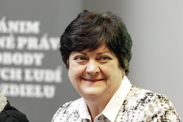Verejná ochrankyňa práv Mária Patakyová.