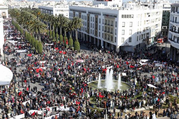 Maročania považujú Západnú Saharu za svoju provinciu.