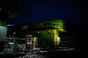 Global Thermostat v Hunstville v Alabame. Global Thermostat, Carbon Engineering a Climeworks sú tri spoločnosti, ktoré vedú lov na nové spôsoby zachytávania CO2 zo vzduchu.