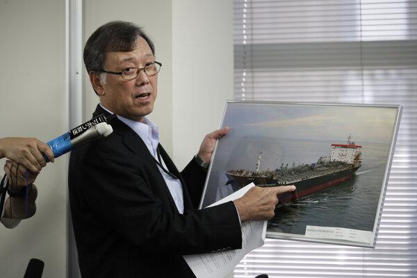Terčom útoku v blízkosti Hormuzského prielivu sa stali ropný tanker Kokuka Courageous a tanker Front Altair.