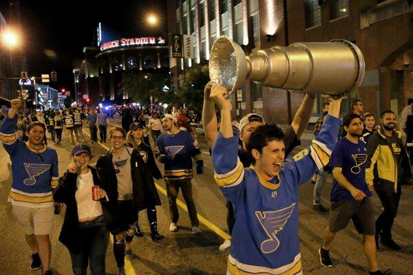 Fanúšikovia St. Louis Blues.