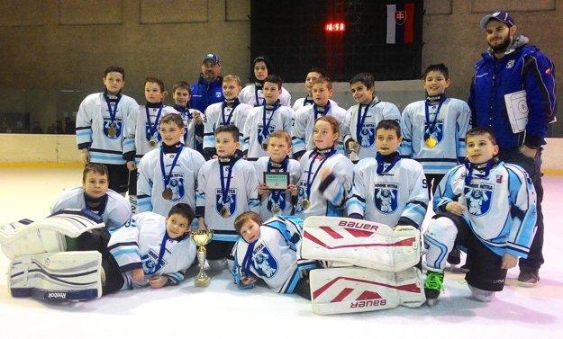 Štvrtáci Nitry v sobotu vyhrali turnaj v Zlatých Moravciach.