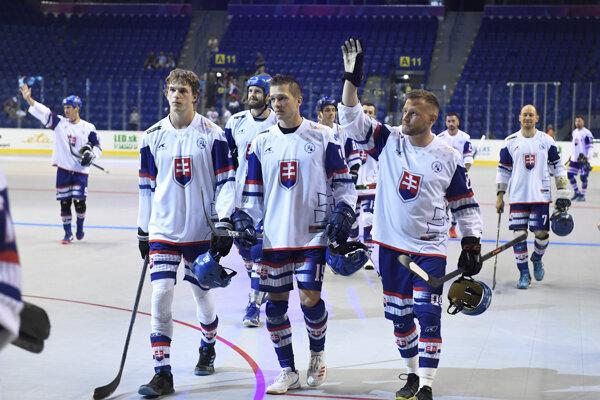 Slovenskí hokejbalisti.