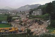 Zemetrasenie spôsobilo aj materiálne škody.