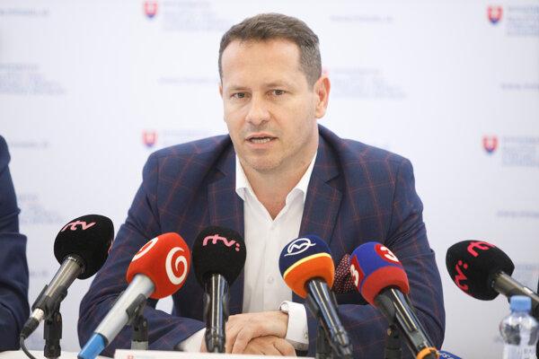 Martin Kohút počas tlačovej besedy - ilustračná fotografia.