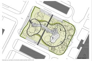Vizualizácia nového námestia