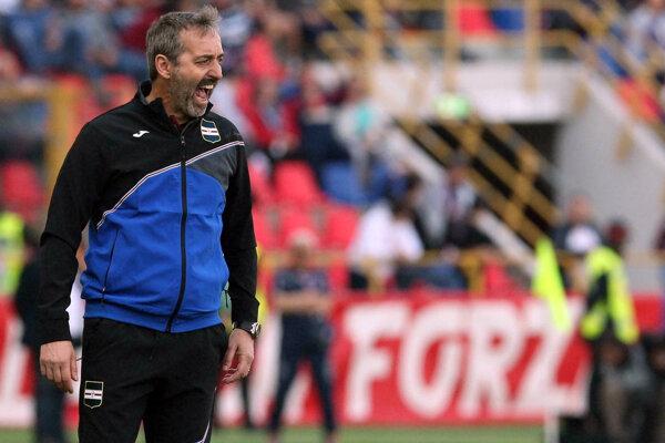 Nový tréner AC Miláno Marco Giampaolo.
