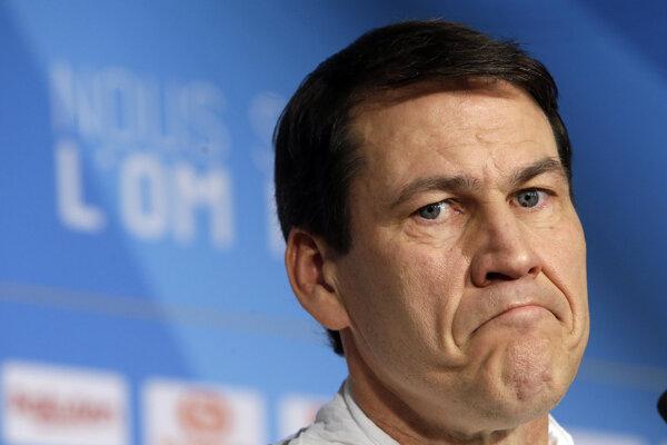 Tréner Olympique Marseille Rudi Garcia - ilustračná fotografia.