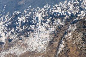 Pohľad na Himaláje z ISS.
