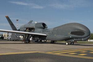 Irán zostrelili v oblasti americký dron Global Hawk.