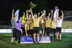 Víťazi SZMF Superligy v malom futbale sú z Košíc.