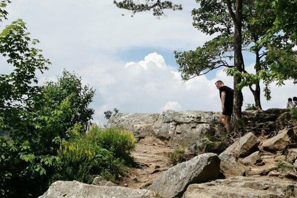 Žena spadla z vyvýšeného miesta Tomášovského výhľadu.