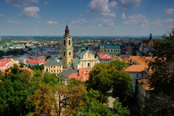 Przemyśl, mesto v juhovýchodnom Poľsku blízko hranice s Ukrajinou.