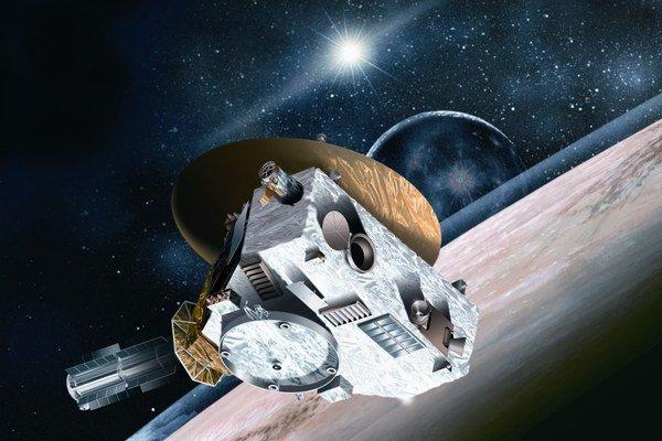 Misiou roka bude prelet vesmírnej sondy New Horizons okolo trpasličej planéty Pluto. Vzniknúť by však mohla aj nová klimadohoda.⋌FOTO – Johns Hopkins University