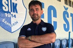 Branislav Sokoli vo farbách nového zamestnávateľa - FC ŠTK 1914 Šamorín.