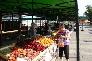 Na tržnici v Martine.