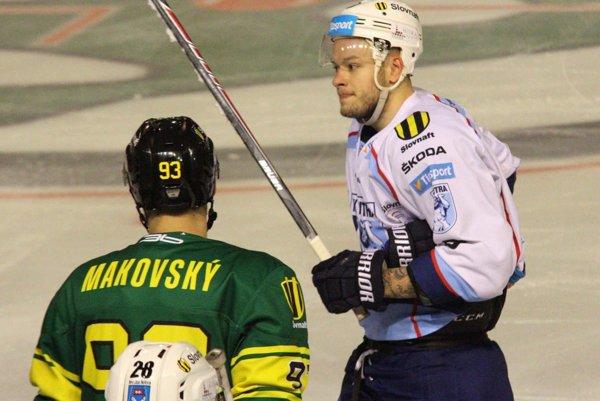 Rado Macík dal vo štvrťfinálových dueloch dva góly.