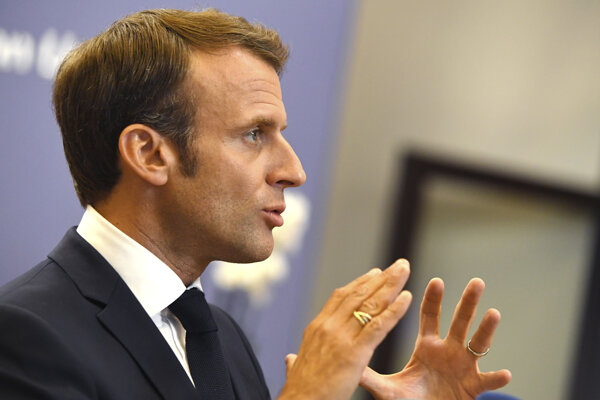 Francúzsky prezident Emmanuel Macron.