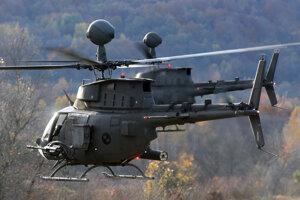 Chorvátske vrtuľníky_OH-58D Kiowa Warrior.