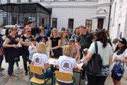Na workshope v Pribeníku sa zúčastnilo viacero stredných škôl z okresu Trebišov.