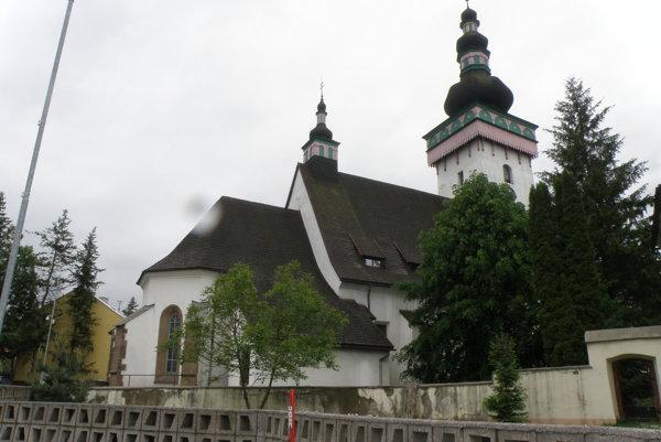 Handlová chce získať peniaze aj na obnovu Kostola sv. Kataríny.