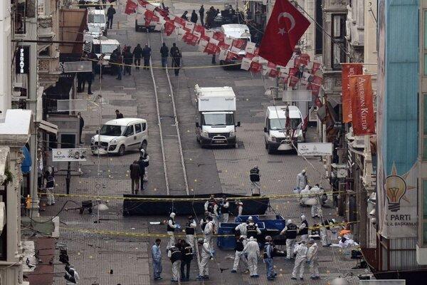 Len nedávno došlo k teroristickému útoku v Ankare.