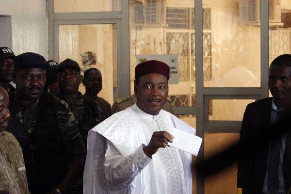 Nigerský prezident Mahamadou Issoufou.