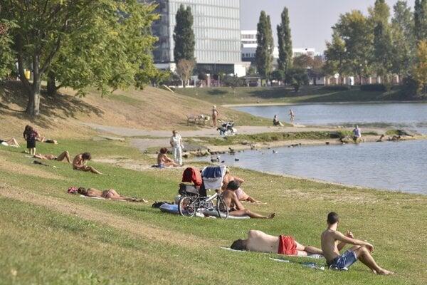 Bratislavská Kuchajda.