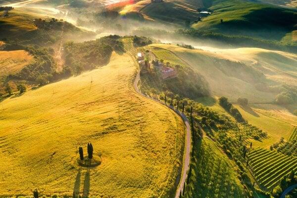 Romantické Toskánsko. 12 miest, ktoré sa oplatí navštíviť