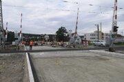 Nový mostný objekt sprejazdnia v auguste.