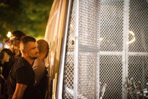 Polícia zatýka výtržníka v Starom Meste
