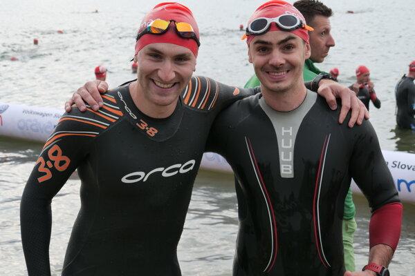 Z ľava: Šimon Klimčík a Róbert Budaj