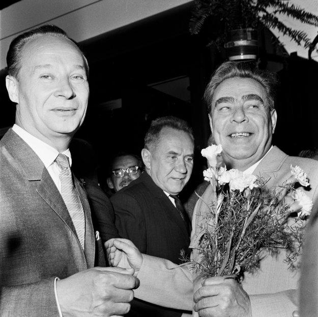 Základom filmu budú telefonické rozhovory medzi Dubčekom a Brežnevom (vpravo).