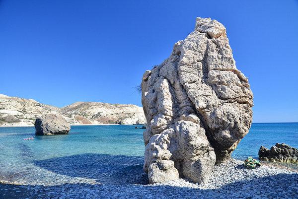 V tejto zátoke sa z morskej peny zrodila bohyňa Afrodita.