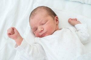 Katarína Harantová (3680 g, 52 cm) sa narodila 7. júla Kataríne a Radovanovi z Veľkej Čiernej.